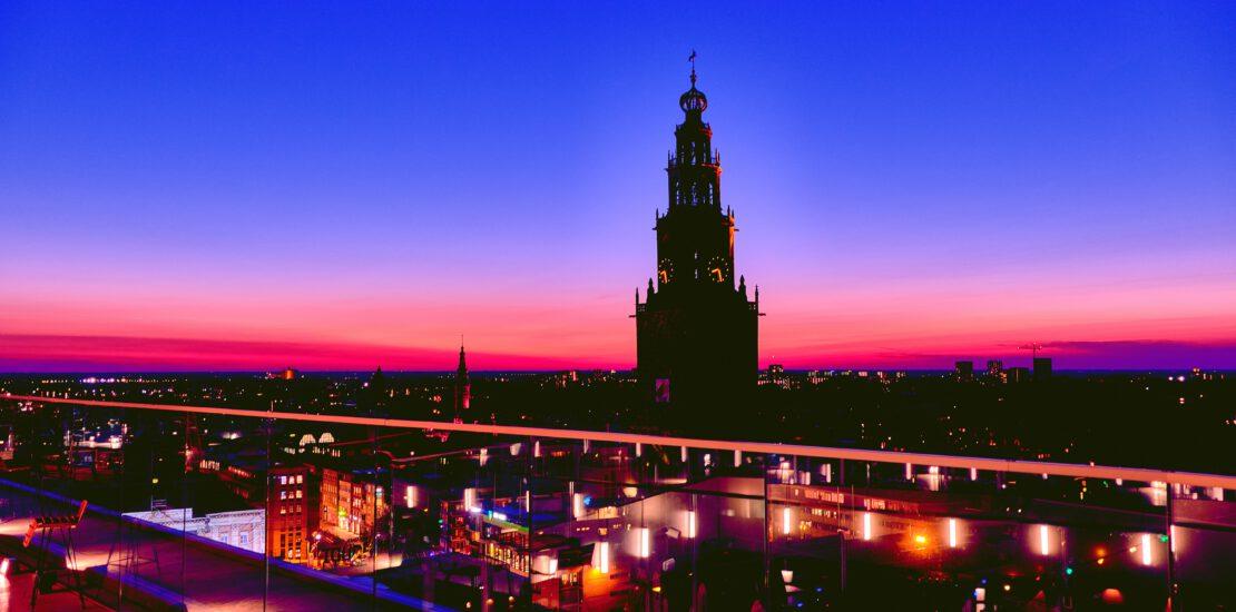 Groningen schemering
